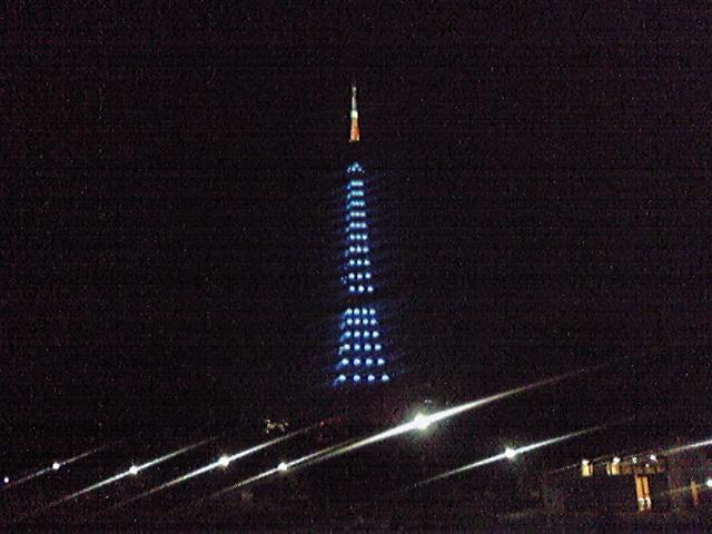 モブログから、、 芝公園、東京タワー