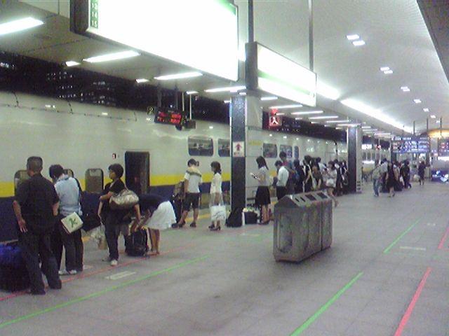 モブログから、、 東京駅、東北新幹線20番線ホーム