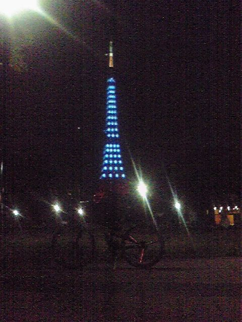 モブログから、、 東京タワー